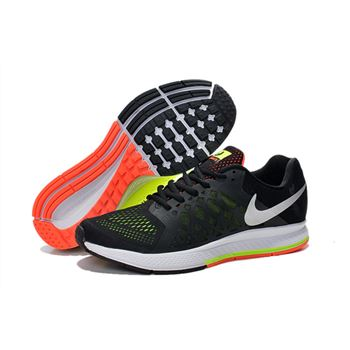 Men's Nike Air Zoom Pegasus 31 Running Shoes Black/Orange/White 652925-012