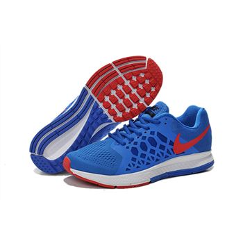 Men's Nike Air Zoom Pegasus 31 Running Shoes Royal Blue/Red/White 652925-401