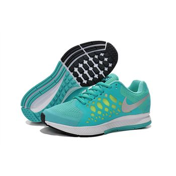 Women's Nike Air Zoom Pegasus 31 Running Shoes Atomic Green/White 654486-471