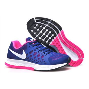 Women's Nike Air Zoom Pegasus 31 Running Shoes Blue White Pink 654486-416