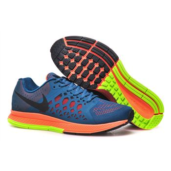Men's Nike Air Zoom Pegasus 31 Running Shoes Dark Blue/Orange/White 652925-401